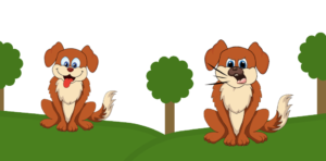 Lieber Hund vs. Bellender Hund